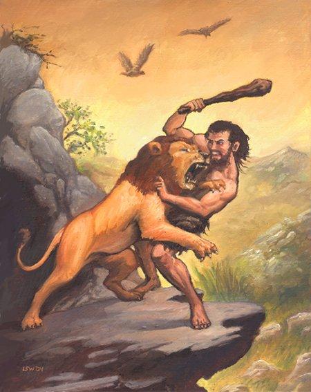 Heracles kills the Centaur Nessus to save Deianira, 1899.