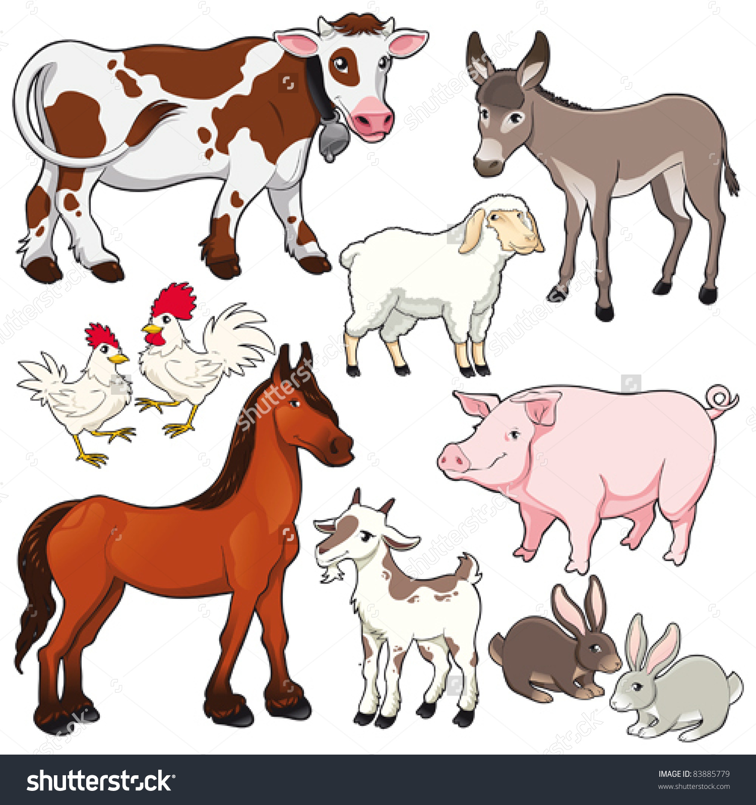 Showing post & media for Cartoon animal herd.