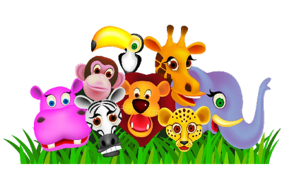 Animal herd clipart.