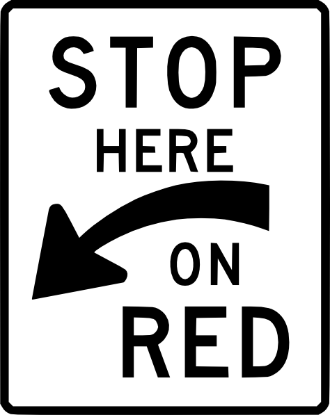 Stop Here On Red Clip Art at Clker.com.