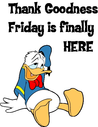 Friday Is Here Clipart.