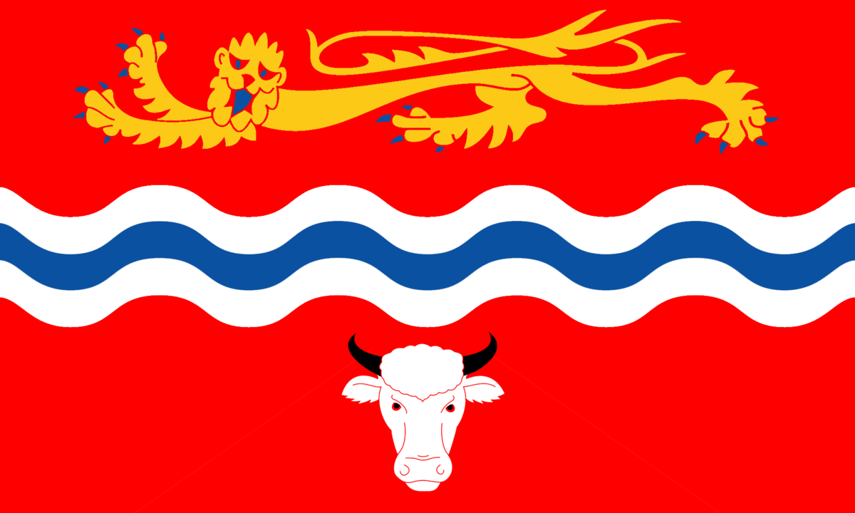 Flag of Herefordshire.