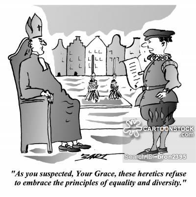 Heresy Cartoons and Comics.