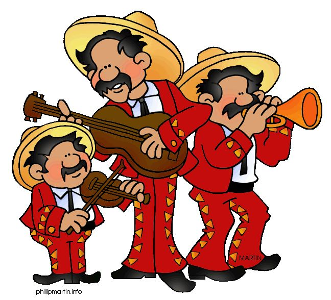 Hispanic Heritage Month Clip Art.