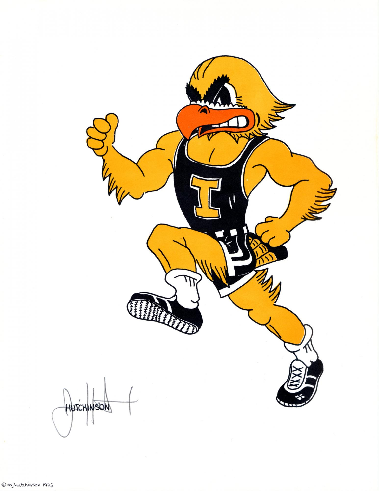 Old Gold: Wishing Herky a happy birthday.