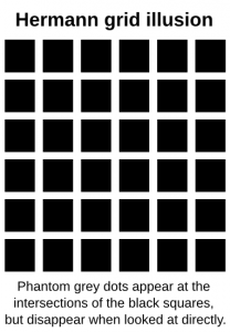 Hermann Grid Illusion Label Clip Art Download.