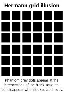 Hermann Grid Illusion Label Clip Art Download.