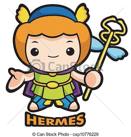 Hermes Clipart.