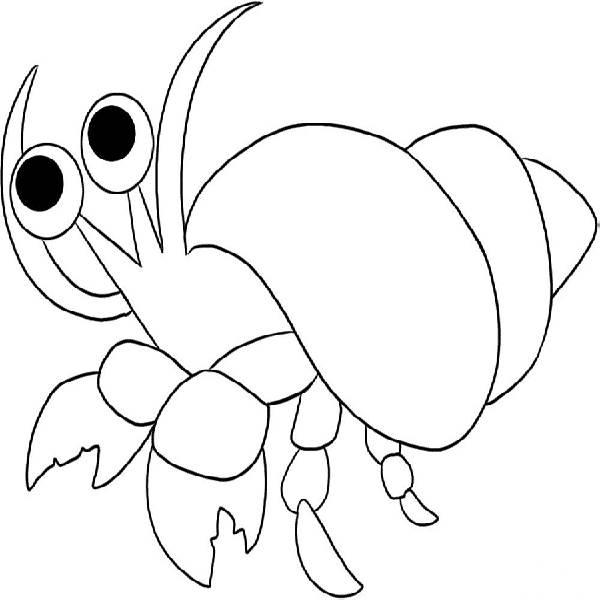Hermit Crab Clipart.