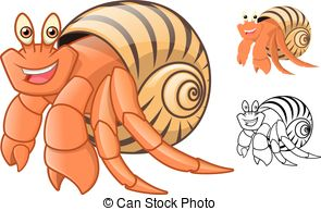 Hermit crab Illustrations and Clip Art. 167 Hermit crab royalty.