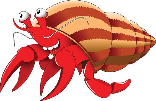 Clipart Hermit Crab.