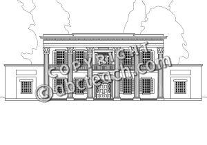 Clip Art: Hermitage B&W.
