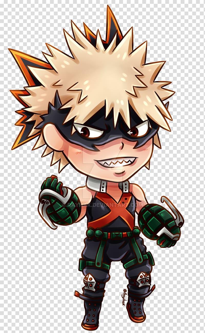 Chibi My Hero Academia, Chibi transparent background PNG.