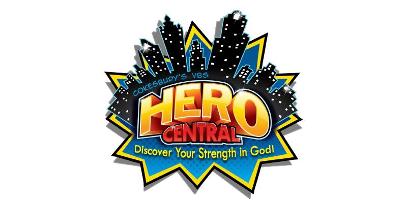 Hero Central VBS 2017 logo.