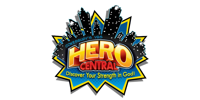 Hero Central VBS 2017 logo.