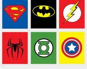 Superhero Logos.