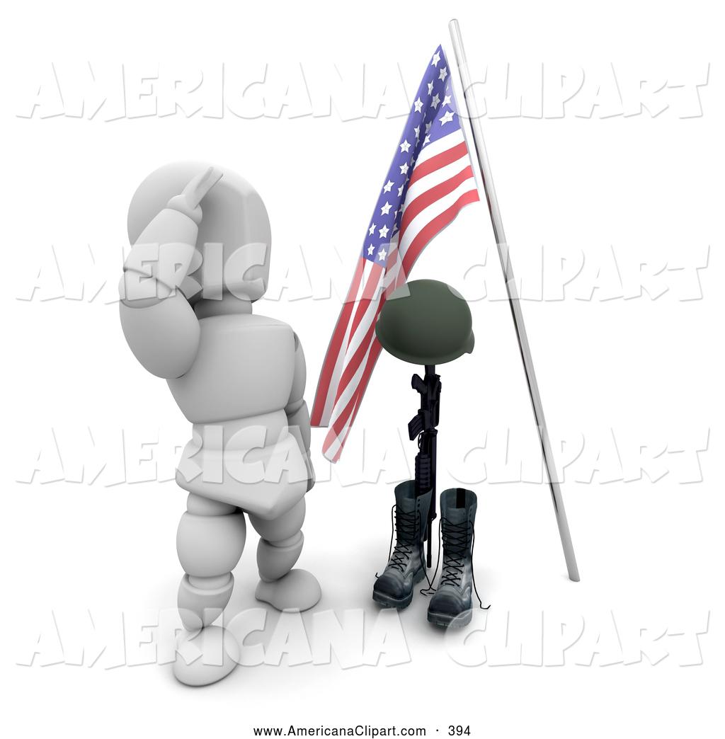 Marine Hero Clipart.