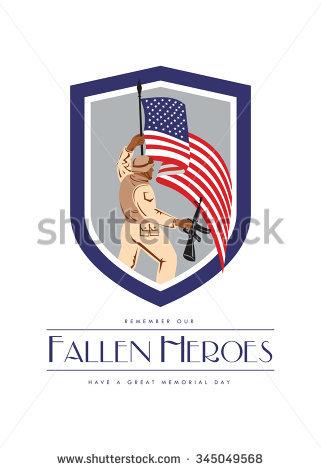 Fallen Hero Stock Photos, Royalty.