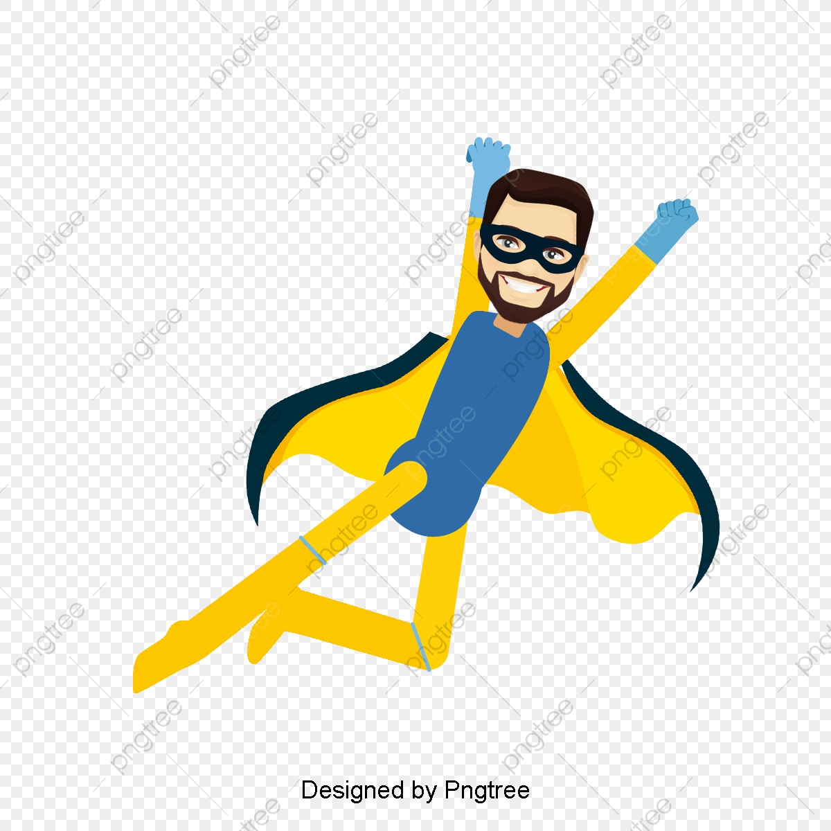 Flying Super Hero, Fly, Superman, Super Hero PNG Transparent Clipart.