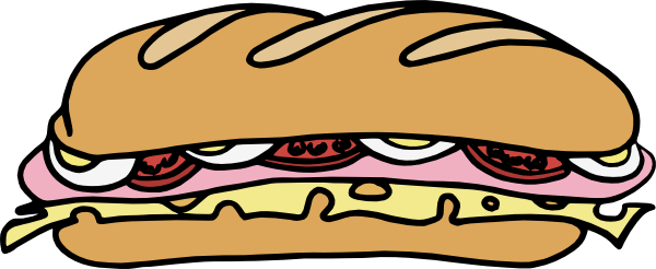Free Sub Sandwich Clipart, Download Free Clip Art, Free Clip.