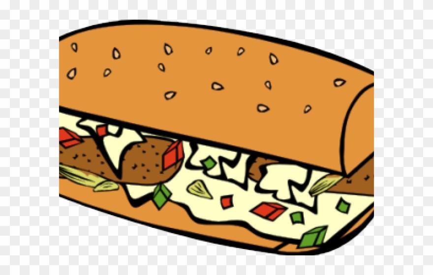 Sandwich Clipart Submarine Sandwich.