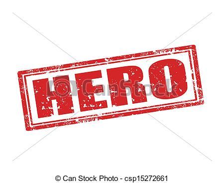 Hero Word Clipart.