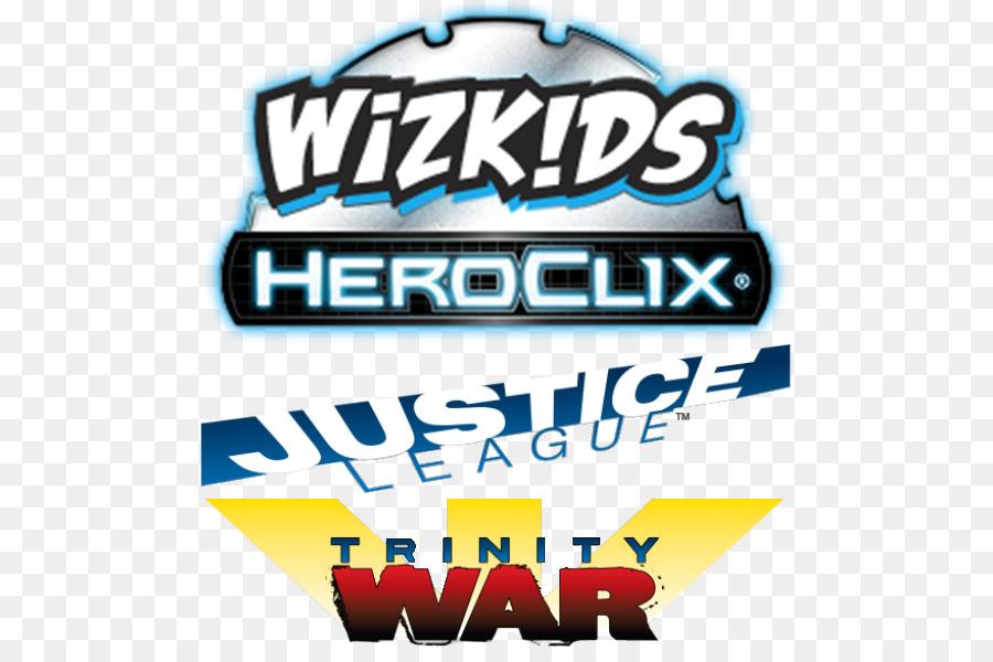 Logo Justice League HeroClix Brand Font.
