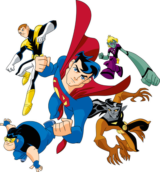 Legion Of Super Heroes Clipart.