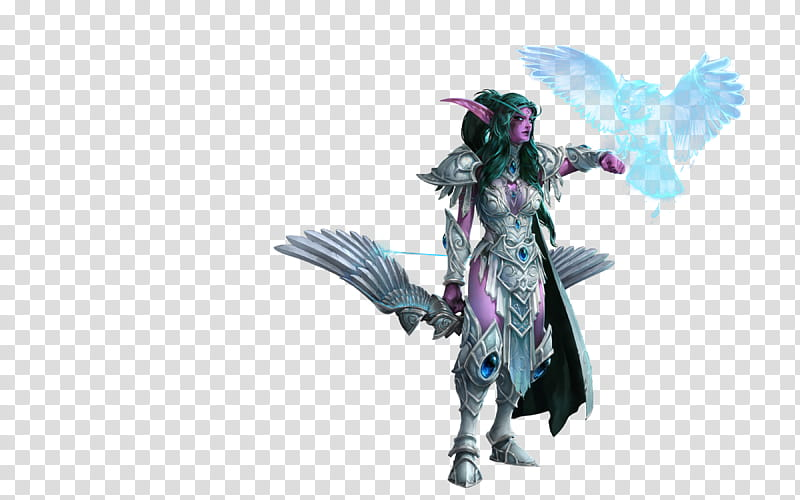 Tyrande Whisperwind Heroes of the Storm, male character.
