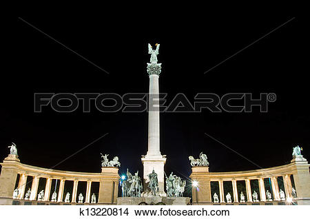 Stock Photo of Heroes Square k13220814.