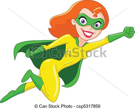 Superheroine Clipart and Stock Illustrations. 157 Superheroine.