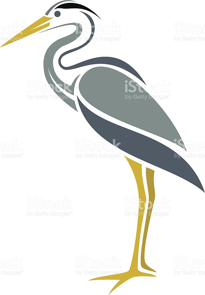 Great Blue Heron Silhouette at GetDrawings.com.