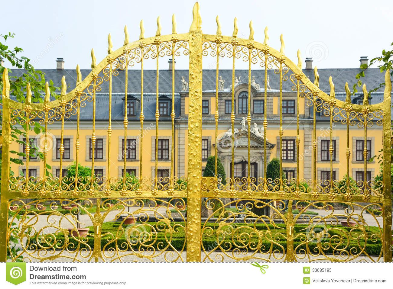 Herrenhausen Gardens Landmark, Hannover, Germany Royalty Free.