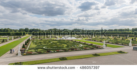 Herrenhausen Stock Photos, Royalty.