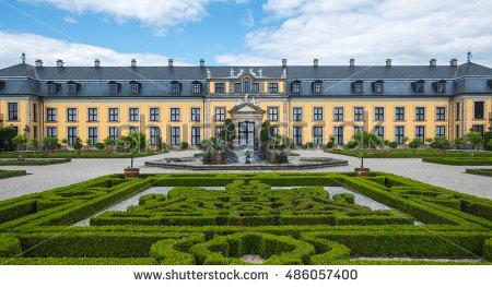 Herrenhausen Stock Photos, Royalty.