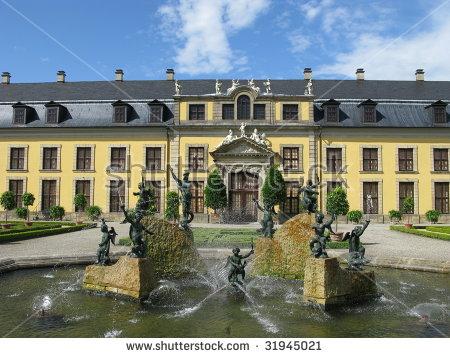 Gardens Hanover Herrenhausen Stock Photos, Royalty.