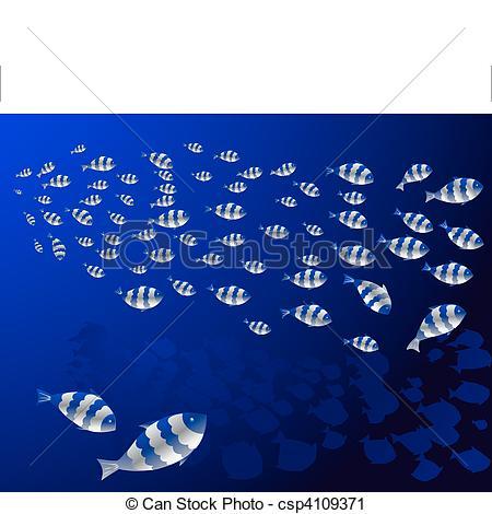 Shoal fish Vector Clipart EPS Images. 233 Shoal fish clip art.