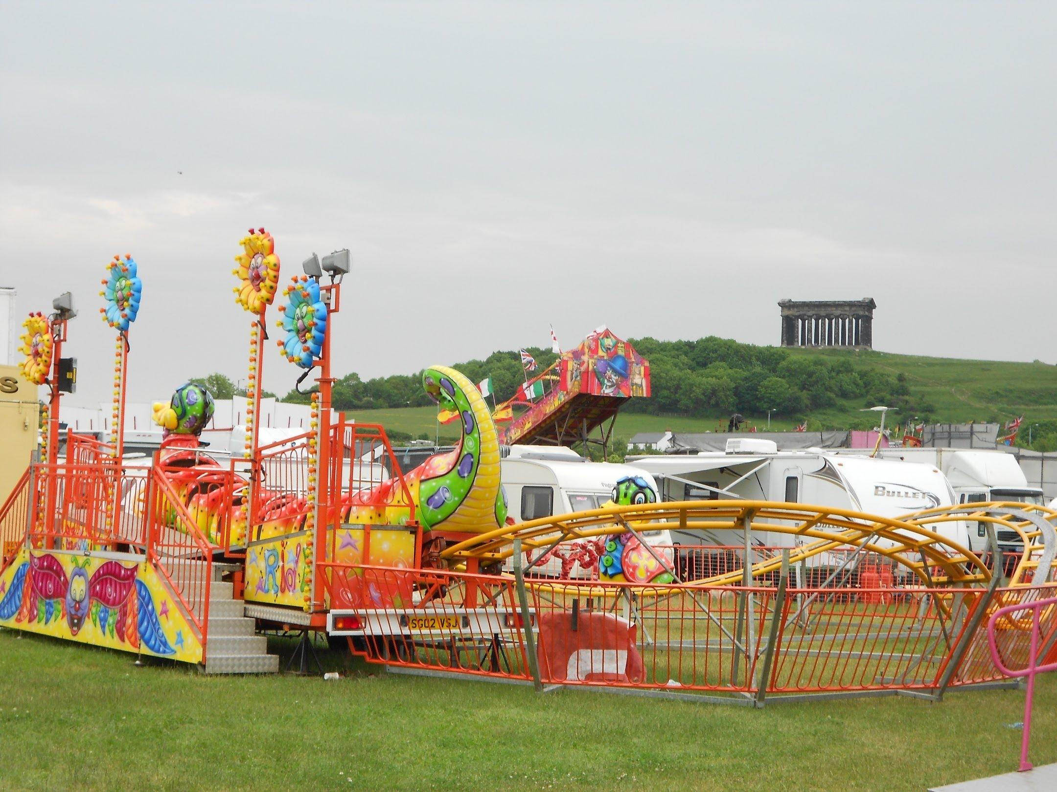 The North East's Largest Fun Fair, Herrington Country Park (near.