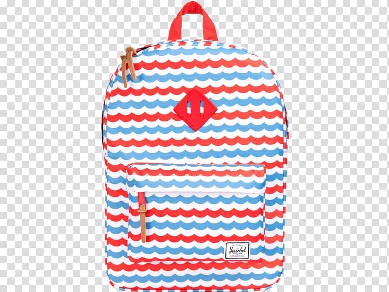 Blue Herschel Supply Co. Heritage Backpack Red, backpack.