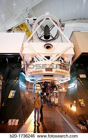 Stock Images of The William Herschel Telescope WHT, Roque de los.