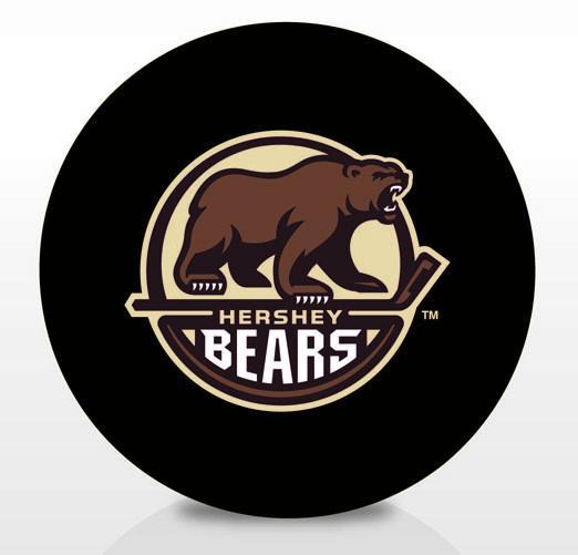 Hershey Bears Team Logo Souvenir Puck.