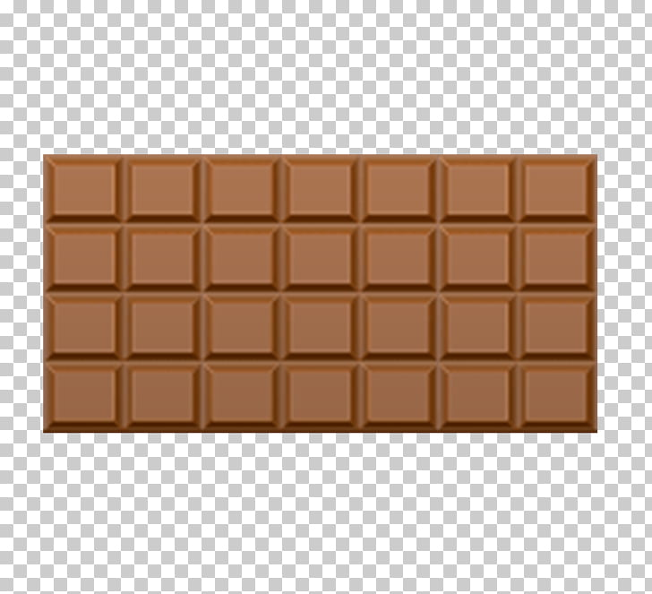 Chocolate bar Hershey bar Kinder Chocolate , A square of.