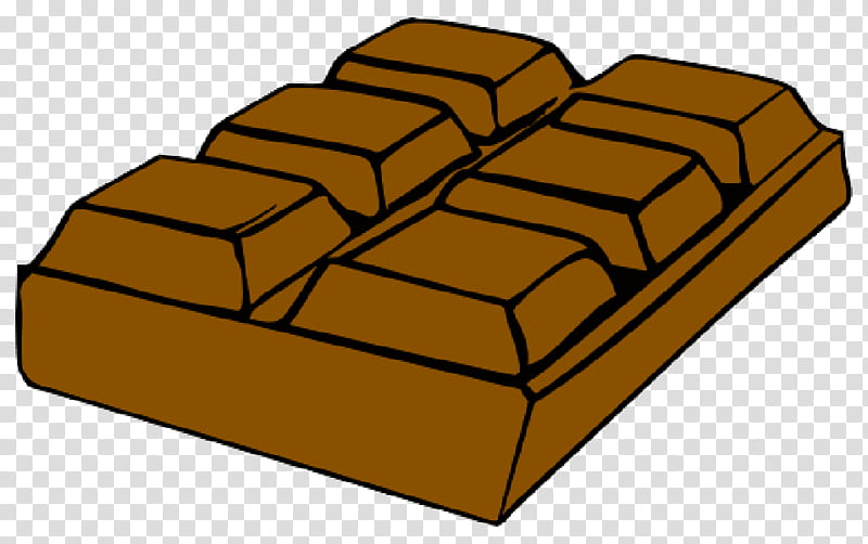 Gold Bar, Chocolate Bar, Hershey Bar, Chocolate Brownie.