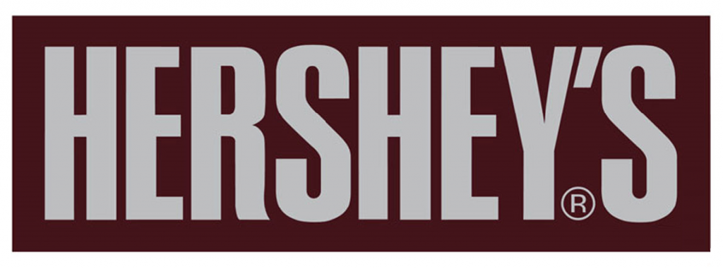 Hershey\'s Chocolate Logo in 2019.