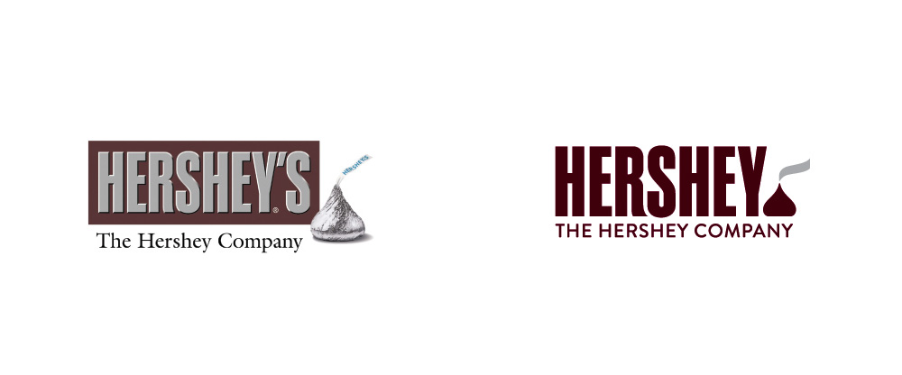 Brand New: New Logo and Identity for The Hershey Company.