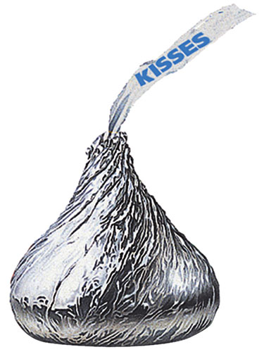 Clipart Of Hershey Kiss.