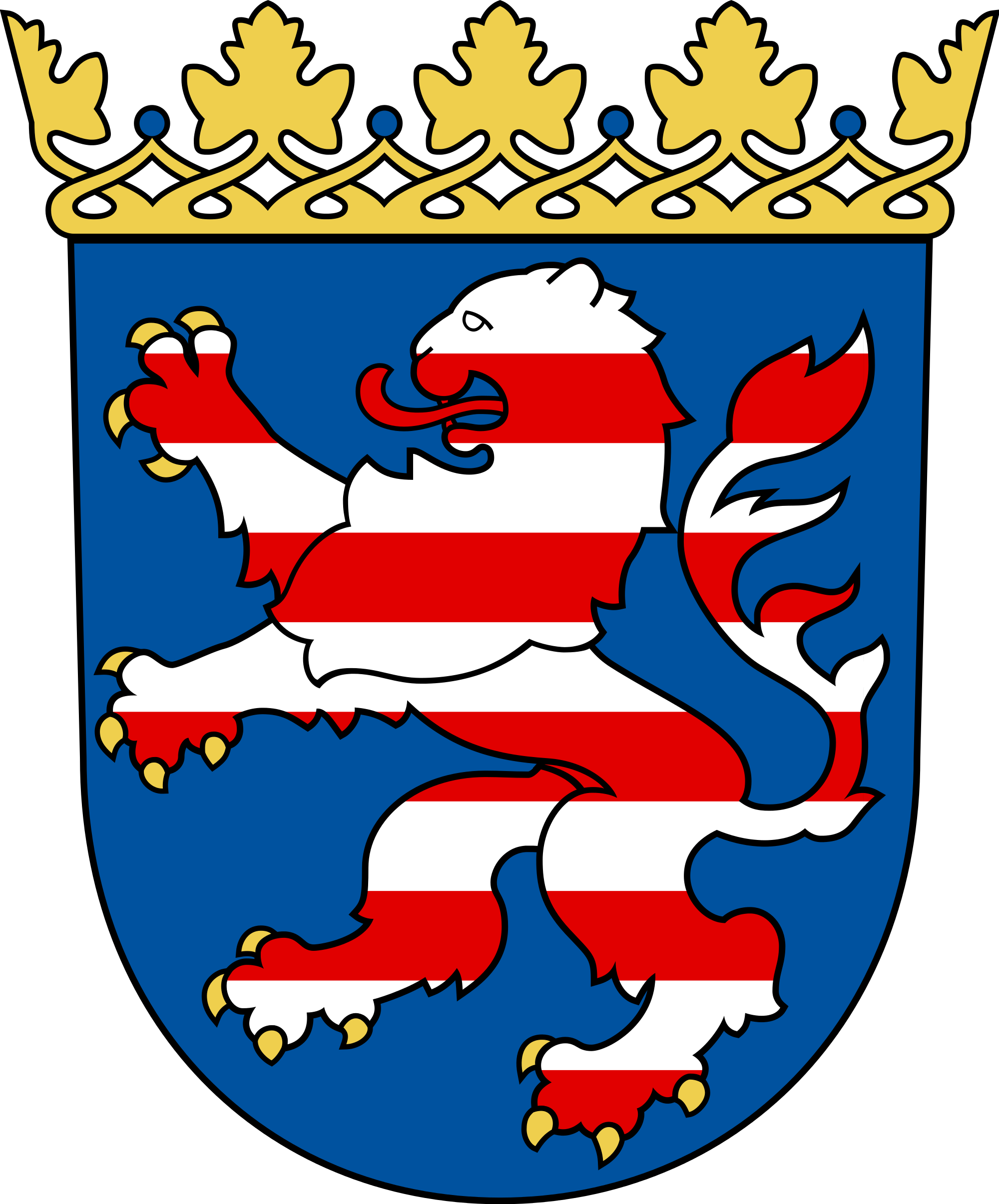 File:Coat of arms of Hesse.svg.