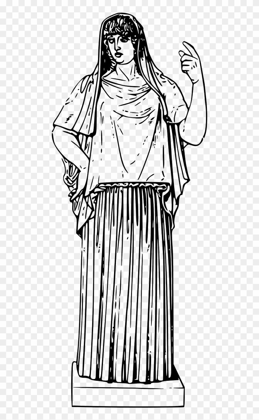 Vesta Ancient Greek Mythology Png Image.