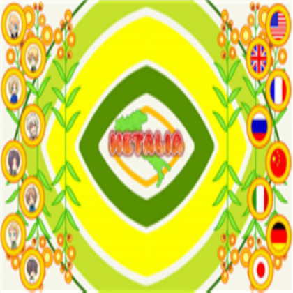 Hetalia Logo For Asuperluigifan.