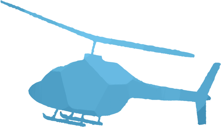 Helicopter, Drawing, Blue, Transparent Png Image Clipart.